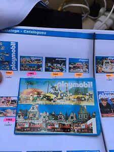 RARE Catalogue Katalog PLAYMOBIL 1982 Numero 1 !!!