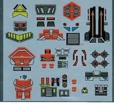 TRANSFORMERS GENERATION 1, G1 AUTOBOT TECHNOBOTS REPRO LABELS / STICKERS