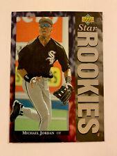 1994 Upper Deck Michael Jordan #19 Baseball Card Star Rookies