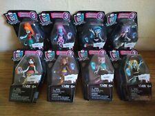 "Monster High Mega Blocks Series Collection 3, Full Set of 8 figures 3"" Lot"