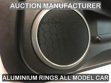 MAZDA 6 GH 2007-2012 Aluminium polished or matt Chrome Speaker Rings x2 rings