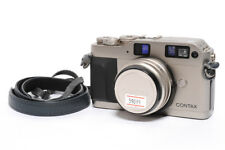 Contax G1 Rangefinder Camera + Biogon 28mm F/2.8 Lens *MINT-*