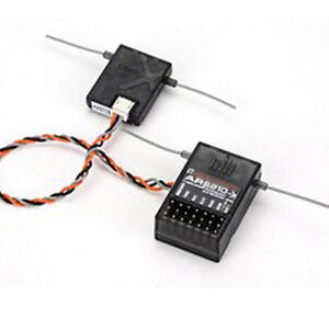 US AR6210 6-Channel Receiver Set DSM-X DSM2 For Spektrum JR Remote Controller