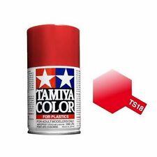 Tamiya TS-18 Metallic Red Spray Paint Can 3.35 oz 100ml Mid-America Raceway