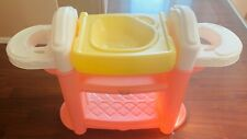 Little Tikes Child Size Pink Doll Tub and Shelf Clean in Great Cond FREE SHIP