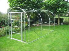 Rahmen mit Tür ideal für die Erstellung einer Voliere  5x2x2 m   Stehhöhe 2m