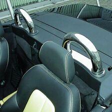 Edelstahl Überrollbügel Roadsterbügel Mercedes Benz SLK R170 rund