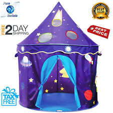 Kids Play Tent Castle Play Tent for Boys and Girls Folding Tent Indoor Outdoor