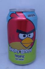empty Angry Birds Tropic soda can / leere Dose; 330 ml; Bottom (Estonia)