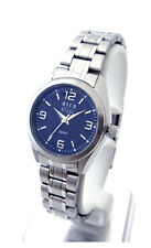 OSCO Workline * Damen Armbanduhr Edelstahl blau