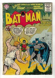 DC COMICS BATMAN  3.5 VG- 102  1956 golden age caveman at large