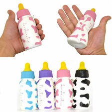 Funny Jumbo Squishy Milk Bottle Slow Rising Cellphone Straps Children's Toys