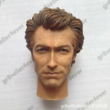 Dirty Harry 1/6 scale head sculpt Clint Eastwood Insp. Harry Callahan Iminime