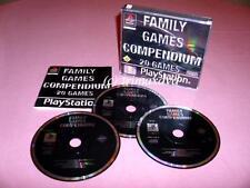 PS1 _20 Games - Family Games Compendium _sehr guter Zustand _1000 Spiele im SHOP