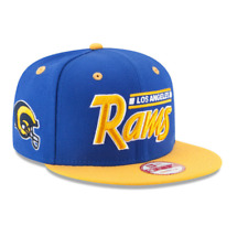 241e8562e2f NFL L.A. Rams New Era 2 Tone Retro Helmet 9FIFTY Snapback Hat - Royal Gold