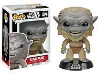 Star Wars The Force Awakens Varmik Funko Pop Action Figure Brand New Limited