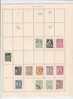 romania stamps page ref 17044