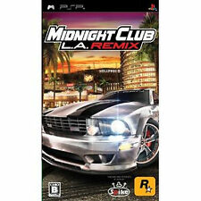 PlayStation Portable PSP Import Japan Midnight club : Los Angeles    LA