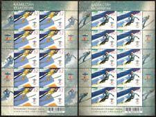 1063 - Kazakhstan - 2010 - Olympic WOG Vancouver - 2 sheetlets of 10v - MNH