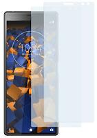 mumbi 2x Folie für Sony Xperia 10 Schutzfolie klar Displayschutz Display