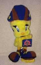 "Tweety Bird Rollerblading Plush Toy Rollerskating Looney Tunes Skate 13"" W/ Tags"