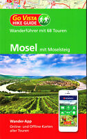 REISEFÜHRER Wanderführer Mosel mit Moselsteig 2019/20, 68 Touren+ Wander App NEU