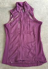 New 2XU Womens Purple Cycle Vest - Size Small