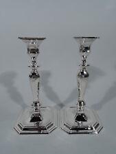 Tiffany Candlesticks - 18506 - Antique Georgian Pair - American Sterling Silver