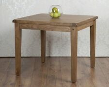 Oak Square Fixed Kitchen & Dining Tables
