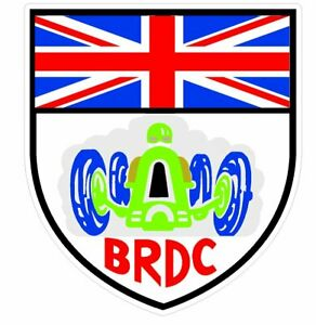 BRDC F1 Souvenir Vinyl Sticker - x2