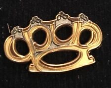 Phish-Punch you in the EYE Brass Knuckles  Pin PYITE Limited Edition Sold Out