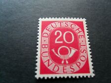 Germany 1951 Post horn Mm  20pf  Stamp as per pictures