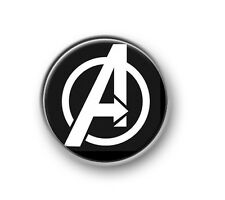 "THE AVENGERS / 1"" / 25mm pin button / badge / Marvel / Hulk / Thor / Iron Man"