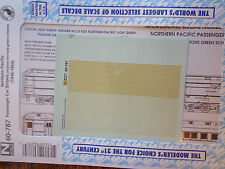 Microscale Decal N  #60-787 Northern Pacific Pacific Passenger Car Stripes, (194