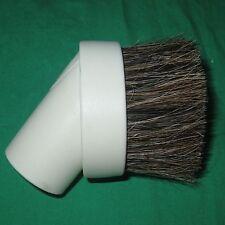 "White Horse Hair Dust Brush 1.25"" Attachment Vacuum Tool Kirby Sentria Oreck Vac"