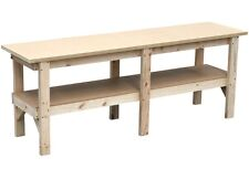 Work bench 2400 x 600mm, direct from our Melbourne factory