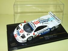 McLAREN F1 GTR N°42 LE MANS 1997 IXO LMM107 arrivée 22ème Abandon