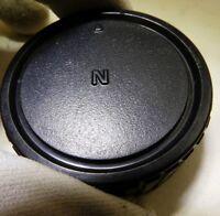 """N"" F mount Rear Lens Cap for Nikon Nikkor AF-S Ai-s lenses -  Free Shipping USA"