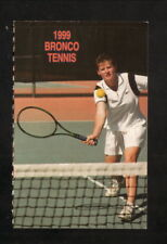Boise State Broncos--1999 Tennis Home Pocket Schedule