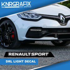KNR0802 - CLIO RENAULT SPORT DRL STICKER DECAL RS - CLIO Mk4 IV RS 200 220 GT