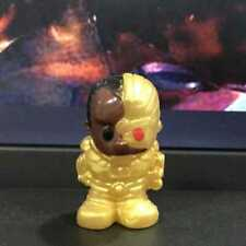 Rare Ooshies Dc Comics Series 2 Golden Cyborg collect figure toy Xmas gift