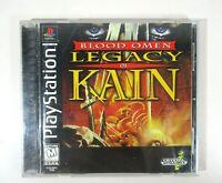 Blood Omen: Legacy of Kain (Sony PlayStation 1, 1996) CIB