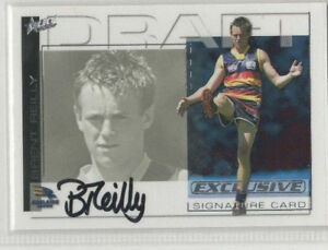 2002 Select AFL Exclusive Draft Pick Signature Card DS12 Brent Ketlly