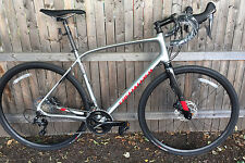 2016 Specialized Diverge Comp DSW Brushed/Red  Shimano 105 11 Speed size 58cm