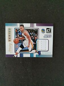 2017-18 Panini Donruss Stephen Curry Jersey Series