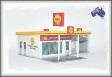 HO Scale Australian 1970s SHELL SERVICE STATION
