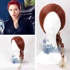 Avengers 4 Endgame Black Widow Perücke Wig Cosplay Costume Kostüme Neu