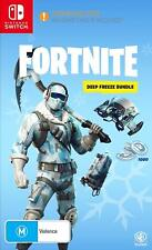 Fortnite Battle Royale Deep Freeze 1000 V-Bucks Game Bundle Nintendo Switch NSW