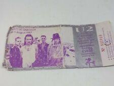 U2 - PAIRC UI CHAOIMH, CORK SATURDAY 8 AUGUST 1987 CONCERT TICKET STUB VINTAGE