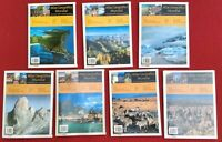 Atlas Geografico Mundial 7 Volumes Portuguese 3 Sealed Geography Lot Brazilian